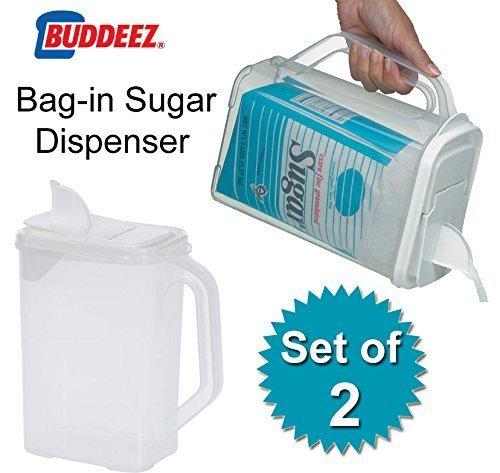 5 Lb Bag Sugar (Bag in Sugar Dispensers (Clear) (10