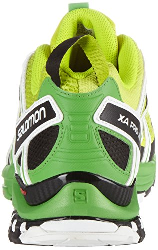 Salomon Xa Pro 3d - Zapatillas de Running Hombre Verde (Lime Punch./Classic Green/White)