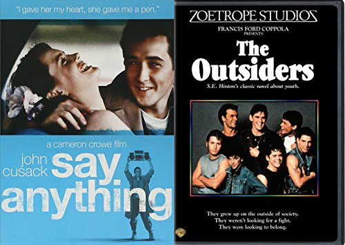 Say Anything   The Outsiders Dvd 80S Teen Movie Bundle Double Feature Set