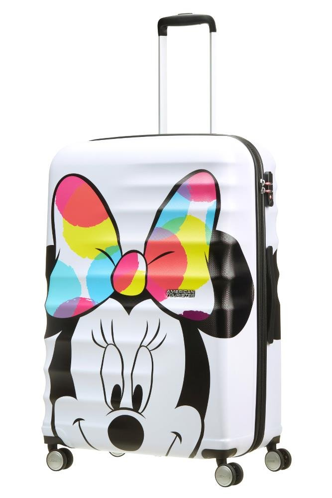 Disney Wavebreaker Spinner 55//20 2.6 KG Bagage enfant Multicolore Mickey Close-Up 55 cm American Tourister 36 liters