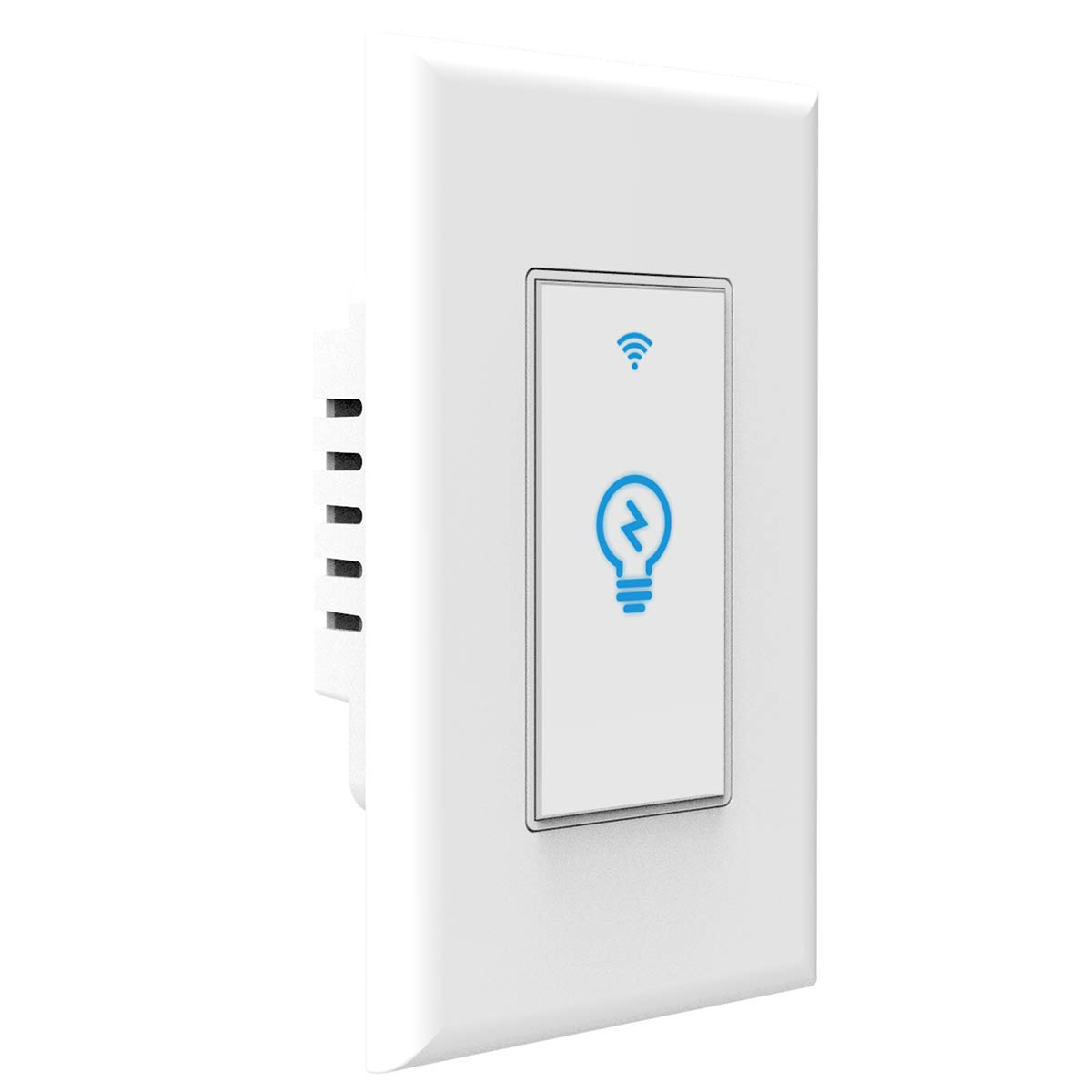 Smart Switch works with Alexa In Wall Light Switch Mobile Phone APP Remote Alexa Control Sensitive Touch Wireless Light Switch (Smart Light Switch)