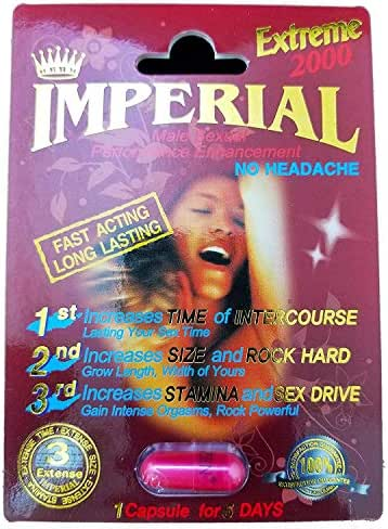 (10) Imperial Extreme 2000mg Male Sexual Performance Enhancement Pill 10-PK