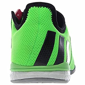 adidas Men's Soccer Ace 16.1 Court Shoes, Solar Green (8)