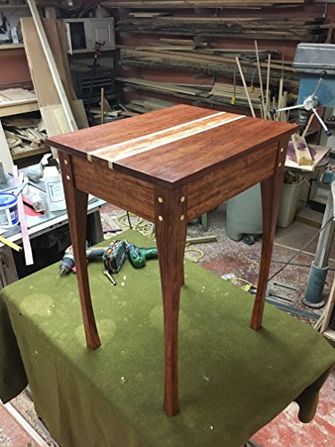 Shaker Inspired End Table, Western Style Legs