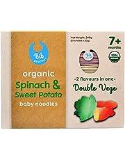 Bib Gourmet Organic Spinach & Sweet Potato Baby Noodles, 240 g