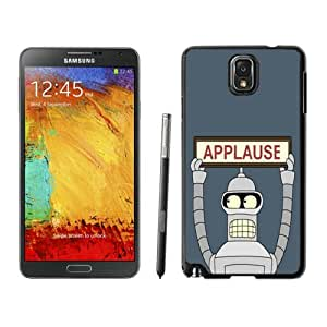 Fashionable And Unique Designed With Futurama Bender Applause Cover Case For Samsung Galaxy Note 3 N900A N900V N900P N900T Phone Case CR-221