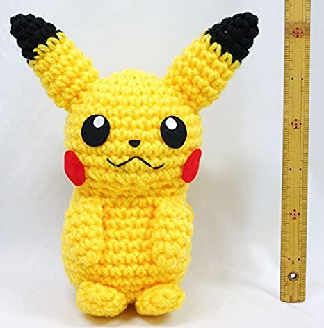 Hamanaka Juego de Amigurumi Pokemon Amenurumi Pikachu Uchiha: Amazon.es: Hogar
