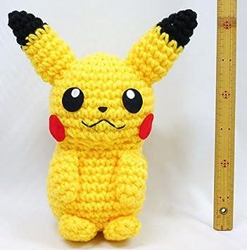 Mini Pikachu Amigurumi Keychain Pikachu by BubblyTeaShop on Etsy ... | 355x351