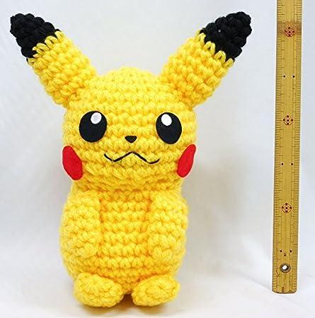 Pikachu Amigurumi crochet pattern (Free Amigurumi Patterns ... | 450x445