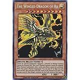 The Winged Dragon of Ra (alternate art) - TN19-EN009 - Prismatic Secret Rare - Limited Edition