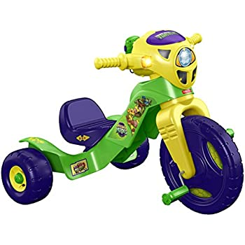 Fisher-Price Nickelodeon Teenage Mutant Ninja Turtles Lights & Sounds Trike