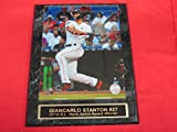 Marlins Giancarlo Stanton Collector Plaque w/8x10 Action Photo