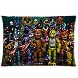 ARTSWOW Custom Five Nights at Freddy's World Pillowcase Standard Size 20X30(One Side)