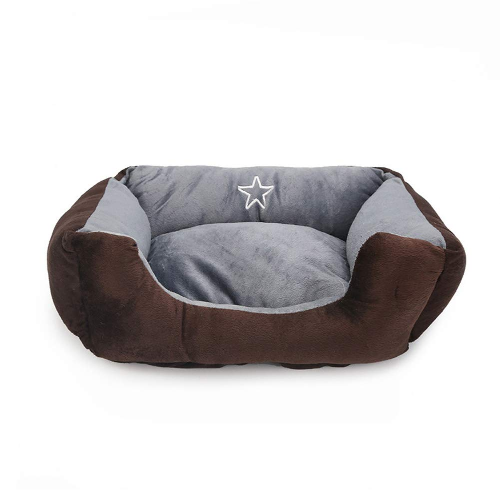 Pet Bed, Plush Kennel cat Bed, Small Dog cat Dog House (40  30cm)