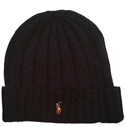 Polo Ralph Lauren Mens Wool Blend Knit Hat One Size Navy