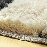Hepix Purple Throw Rugs for Bedroom Bathroom Mat