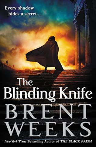 book cover of The Blinding Knife