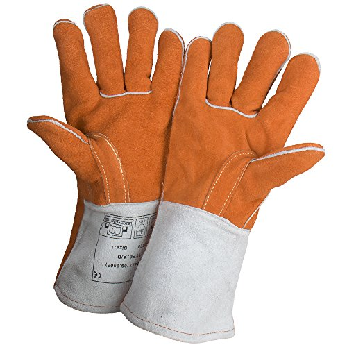 Welding Gloves Extreme Resistant Leather orange product image