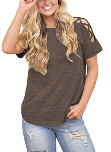 Astylish Women Shoulder Blouse Casual