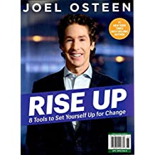 (FREE SHIPPING) Time Magazine 2018 Joel Osteen 8 Tools to Set Yourself Up for Change RISE UP