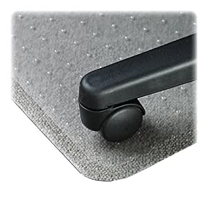 Amazon Com Lorell Llr02158 Rectangular Chair Mat 46 Quot X