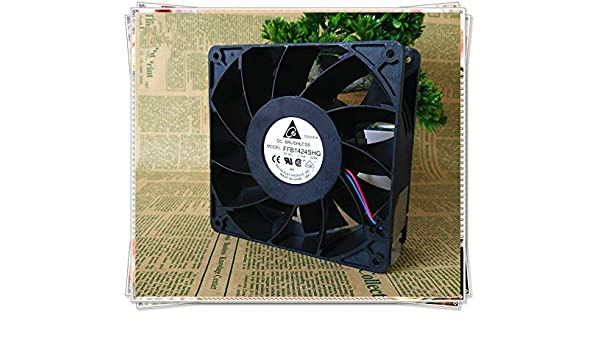24V2.3A FFB1424SHG high-quality 4-wire temperature-controlled inverter fan 14050