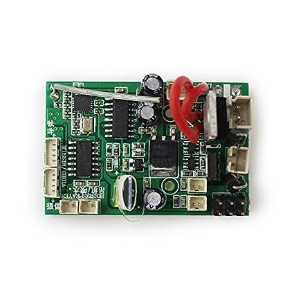 amazon com toogoo rc pcb receiver board for wltoys v912 v912 16 rc rh amazon com