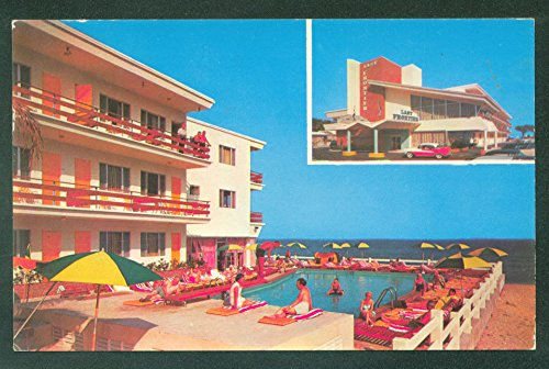 (Last Frontier Resort Hotel MIAMI BEACH Florida Swimming Pool Postcard)
