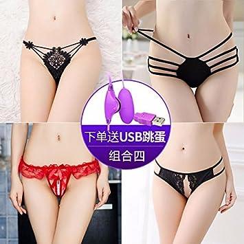 XIAOGEGE Sexy ropa interior sexy hembra sexo tanga T pantalones,Color/18