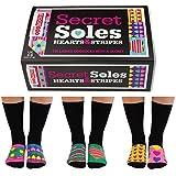 Oddsocks Secret Soles Socken im 6er Set - Oddsocks Secret Soles Strumpf Socken