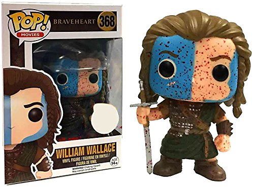 FunKo – Figurine Braveheart William Wallace Bloody Exclu Pop 10 cm – 0889698125482