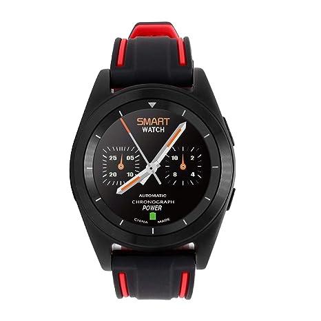 Smart Watch, Salud Vigilancia Sport Bluetooth Teléfono Reloj con ...