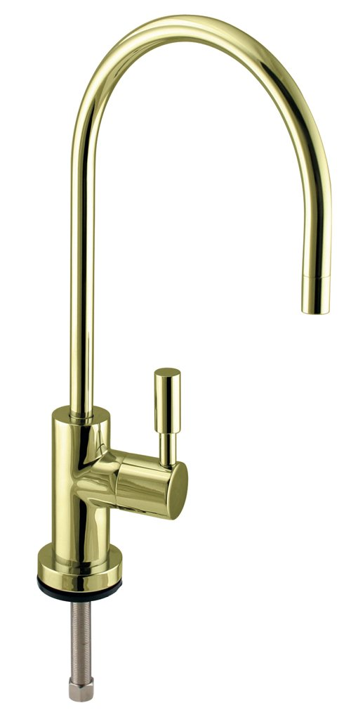 Westbrass D2036-NL-01 Contemporary Cold Water Dispenser 11'' Polished Brass