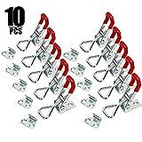 KINJOEK 10 PCS 360 Lbs Adjustable Toggle Clamp 4001