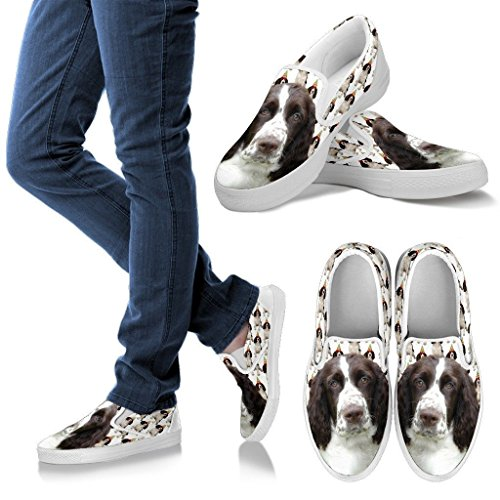 English Slip Ons Your For Breed Springer Women Print Spaniel Slip Pet Ons Choose Women's Cute Shoes Dog RXnx6gHwq4