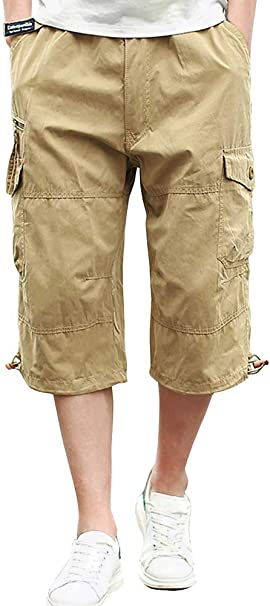 WINJIN Shorts Cargo Homme Bermuda Casual Shorts de Sport Musculation Pantalon Court Mode Ete