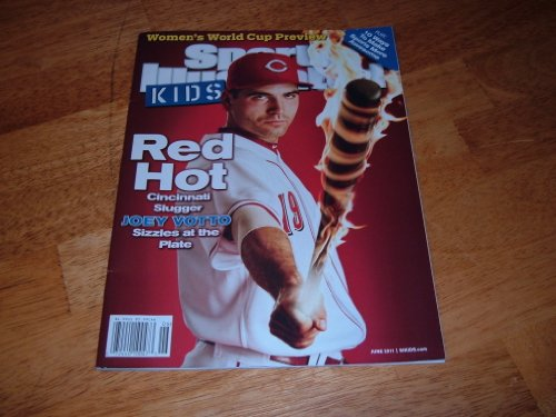 - Joey Votto-Cincinnati Reds on cover-Sports Illustrated For Kids, June 2011 issue.