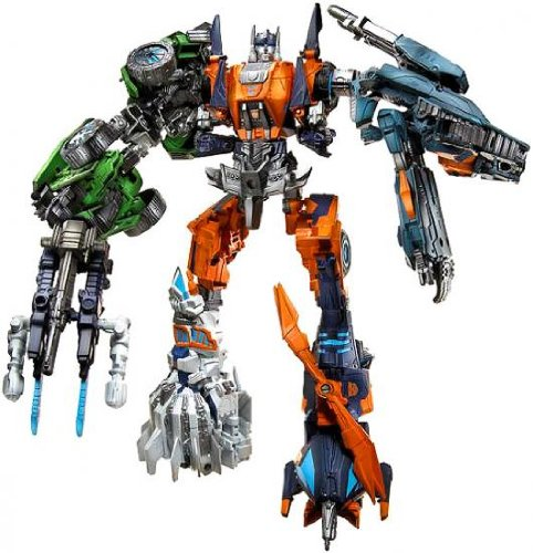 Transformers Generation Deluxe RUINATION Set of 5 Includes Roadbuster, Impactor, Whirl, Twintwist, Topspin