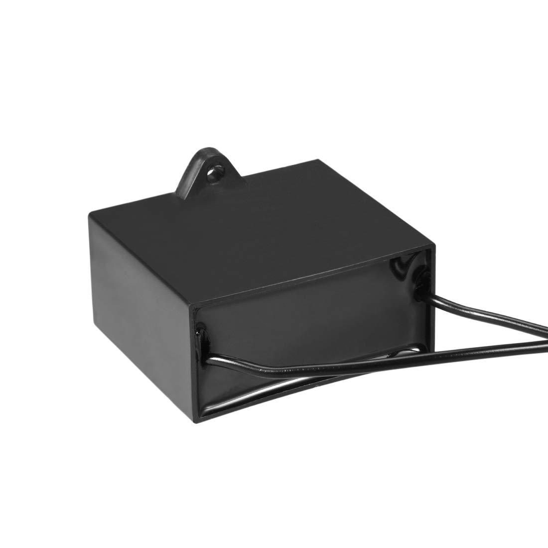 sourcing map Condensateur Courant AC450V 6uF Condensateurs /à Film polypropyl/ène m/étallis/é