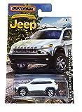 jeep cherokee die cast - MATCHBOX LIMITED EDITION JEEP ANNIVERSARY EDITION WHITE 2014 JEEP CHEROKEE TRAILHAWK DIE-CAST