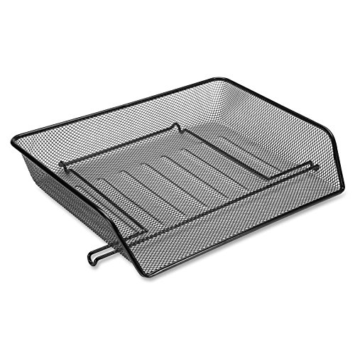 LLR84154 - Lorell Side-loading Mesh Letter Trays (Lorell Side Table)