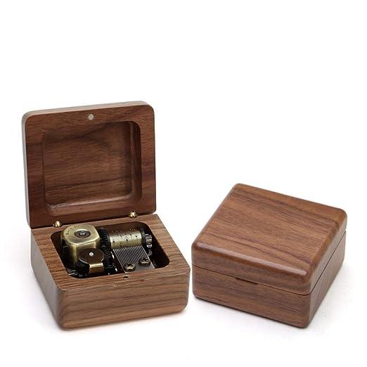 TXX Caja de música de madera Caja de ocho tonos Nombre de la ...