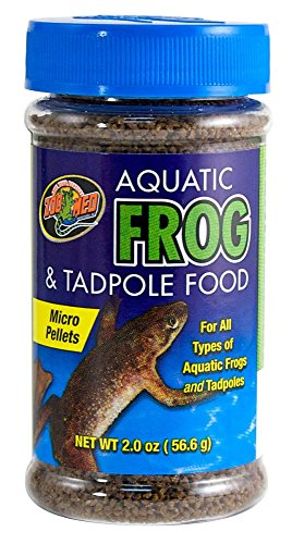 Zoo Med Aquatic Frog and Tadpole Food, 2-Ounce