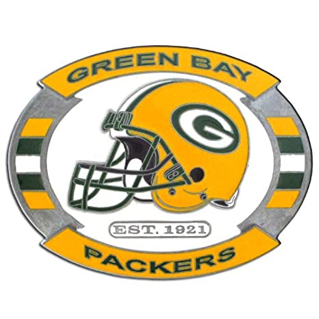 amazon com nfl green bay packers belt buckle sports fan buckles