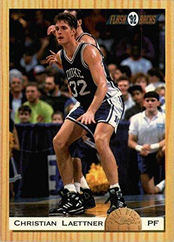 Christian Laettner basketball card (Duke Blue Devils) 1993 Classic Draft Picks Rookie #106