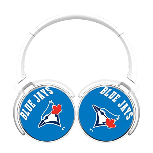 Blue Jays Wireless Bluetooth Headphone Headsets Printing Music Bass Stereo Surround Support Expansion CARDS (Unit Lgb)
