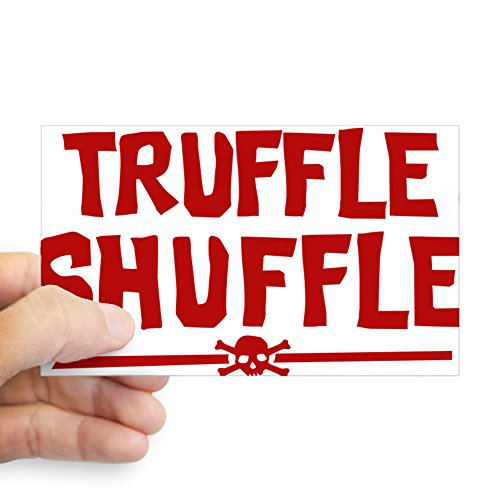 CafePress Goonies-Truffle-Shuffle Rectangle Bumper Sticker Car Decal ()