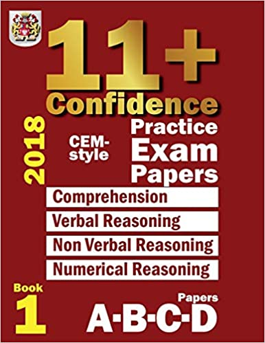 11+ Confidence: CEM-style Practice Exam Papers Book 1 ...