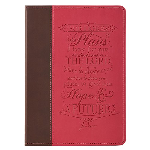 "Photo - ""I Know the Plans"" Pink & Brown Inspirational Tablet Cover - Jeremiah 29:11 (Fits iPad® Air)"