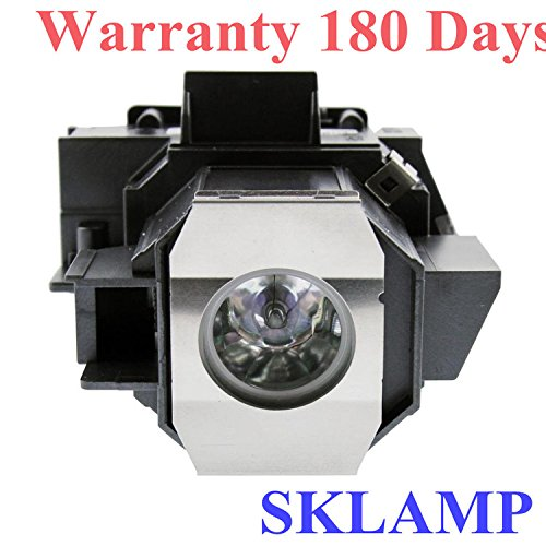 Sklamp ELP-LP35 / V13H010L35 Replacement Lamp with Housing For EPSON EMP-TW600 PowerLite Home Cinema 400 Projectors